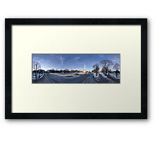 Freedom Monument Framed Print