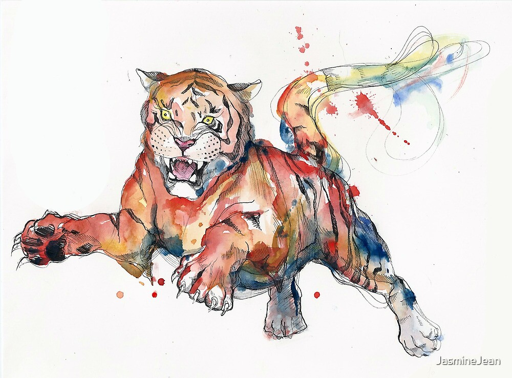 Tiger by JasmineJean