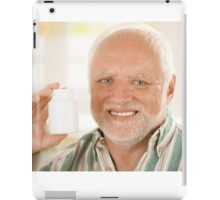 Harold the Old dude iPad Case/Skin