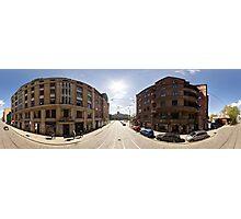 Creative district on Miera street, Riga, Latvia Photographic Print