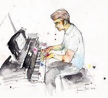 Pianist by JasmineJean