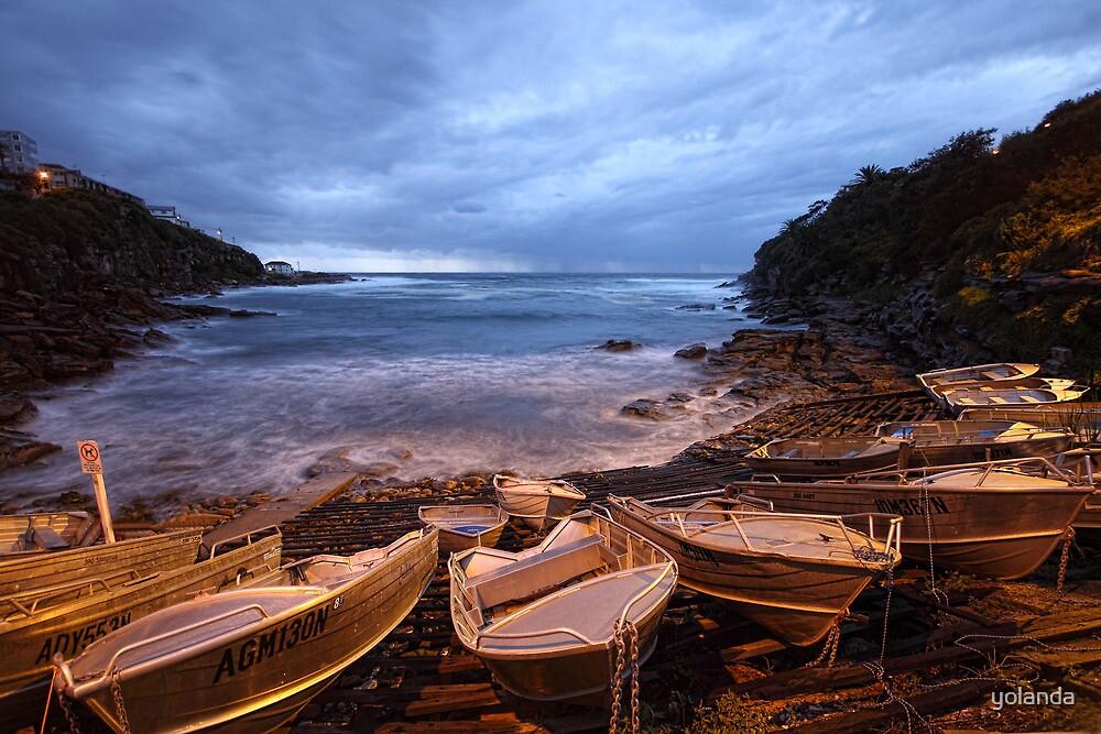 Gordon's Bay Dawn by yolanda