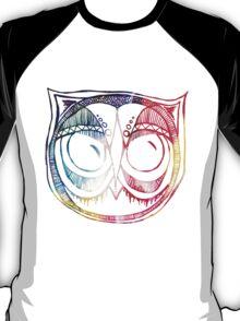 Giant eyes Owl 4 - Colour T-Shirt