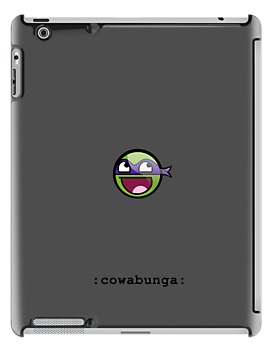 Cowabunga Buddy Squad: Donatello - iPad case by Cowabunga