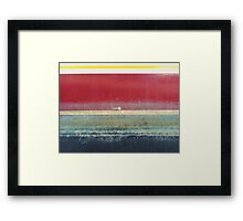 Feather? Framed Print