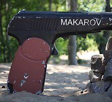 Makarov pistol by mrivserg