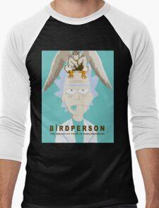 Birdperson Men's Baseball ¾ T-Shirt