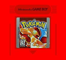 Pokemon Red Cartridge by FlyNebula