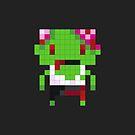 Pixel Art Zombie by jaredfin