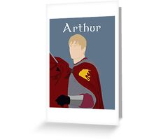 BBC King Arthur Greeting Card