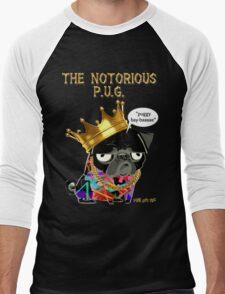 notorious pug Men's Baseball ¾ T-Shirt