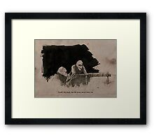 Battle Rats Framed Print