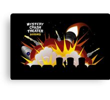 Mystery Crash Theater with Logo Canvas Print