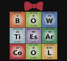 Bow ties chemical elements (Dark Colours) by Zort70