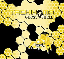 Tachikoma Yellow - (iPad) by Adam Angold