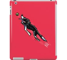 Border Collie in Action {dark} iPad Case/Skin