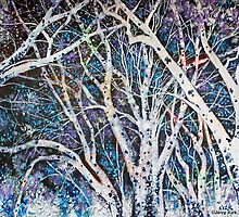 'ILLUMINATED TREES'  by Jerry Kirk