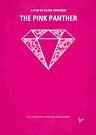 No063 My Pink Panther minimal movie poster by Chungkong