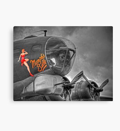 """A Flying Legend"" Canvas Print"