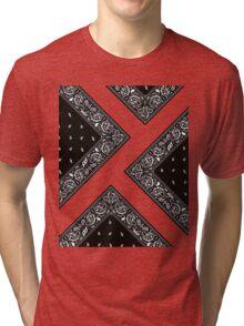 Bandana on Point Tri-blend T-Shirt