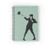 Moritz Stiefel (And Then There Were None) Spiral Notebook