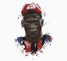 Super Mario Balotelli AC by DLIllustration