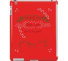 Ugly Christmas Sweater - Mauraders Map iPad Case/Skin