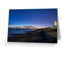 East wittering. Greeting Card