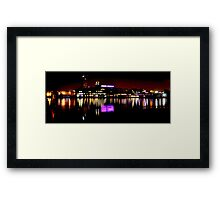 Under Armour at Night Framed Print