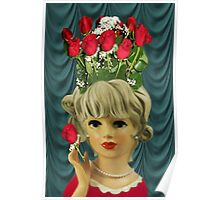 ¸¸.♥➷♥•*¨MY HEART IS FEELING LUV BUT MY HEAD IS SAYING ROSES ¸¸.♥➷♥•*¨ Poster