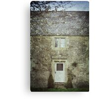 The House down the Lane Canvas Print