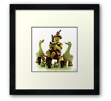 Story of the TROLLS Framed Print