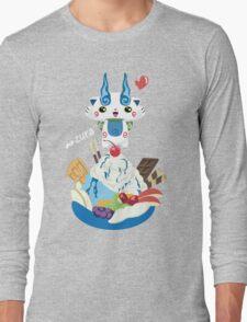 Ice Cream Komasan Long Sleeve T-Shirt