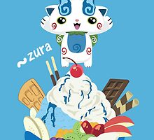 Ice Cream Komasan by DatLonelyTurtle