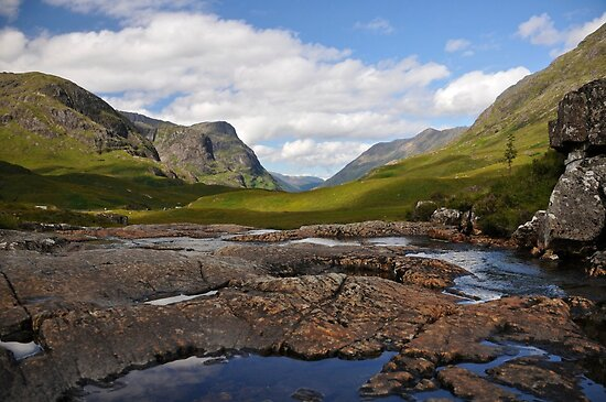 Glen Coe, Scotland. by Ross Hutton