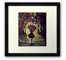 She Who Braves the Storm of Life Framed Print