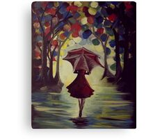 She Who Braves the Storm of Life Canvas Print