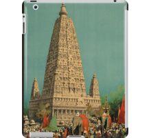 Vintage poster - India iPad Case/Skin
