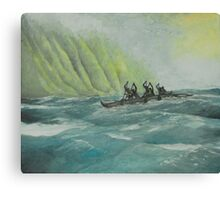 Na Koa Wa'a Canvas Print