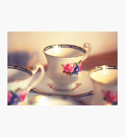 Tea cup Photographic Print