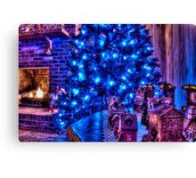HDR - Christmas Scene Canvas Print