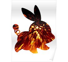 Tepig used Incinerate Poster