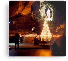 Sanctuary of Lourdes, France 2005 Metal Print