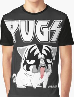 kiss pug Graphic T-Shirt