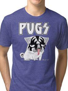 kiss pug Tri-blend T-Shirt