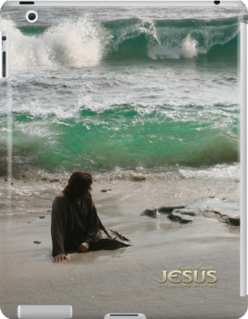 Jesus: Spend time with Me (iPad Case) by Angelicus
