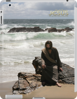 Jesus: Tell Me everything; I'm listening (iPad Case) by Angelicus