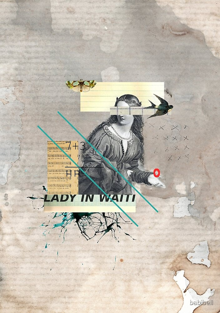 Lady in Waiting by Claire Dimond