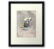 Lady in Waiting Framed Print