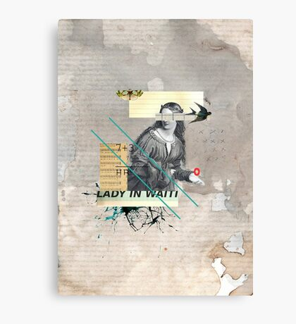 Lady in Waiting Canvas Print